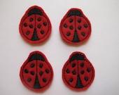 Ladybugs-- Machine Embroidered   FE-508