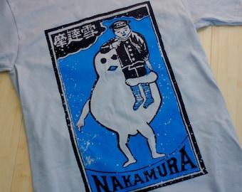 Nakamura Snowman - Retro Japanese Shirt