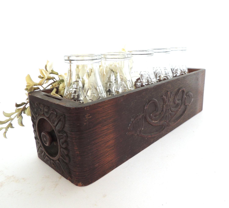 Vintage Wood Drawer Rustic Wood Planter Box Vintage By