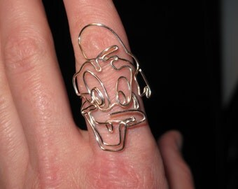 Wire Wrapped Donald Adjustable Ring MADE to ORDER