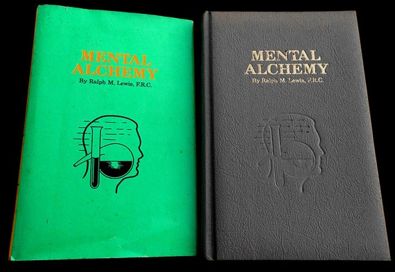 RESERVED - Mental Alchemy - Rare Rosicrucian / Occult Book - 1st Edition - Hardbound w/ Original Dust Jacket