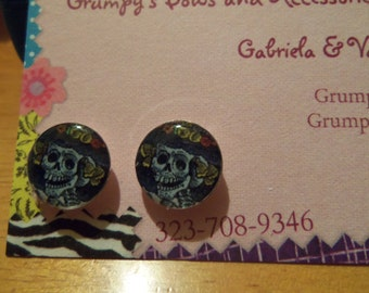 Day of the Dead CATRINA Inspired Earrings
