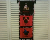 Disney Custom Pirate Themed 2-Pocket Fish Extender with Embroidered Names & Ship