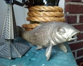 Fall sale :Pouty Brass Fish