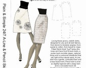 HP 1011 Plain and Simple 24/7 A-Line & Pencil Skirts