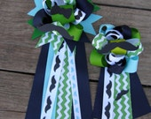 set of  two one small and one medium--mustache baby shower- baby shower mustache-corsage-baby shower corsage-mustache