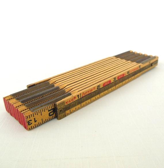 Lufkin Folding Wooden Ruler