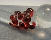 Glass Dildo MINI Pocket Mature Sex Toy Massager Red (41)