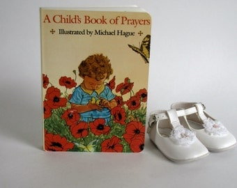Vintage 1985 A Child's Book of Prayers - Hardcover