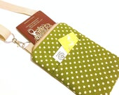 Green Spot   - Travel Pouch / Mini Messenger Bag - Woodland Collection