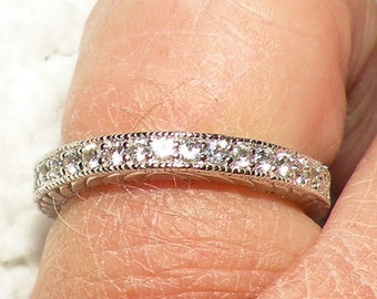 Sterling Silver Wedding/Engagement Band