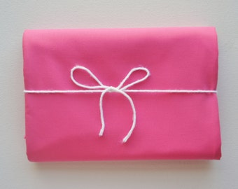 SALE - Changing Pad Cover - Kona Cotton - Pink