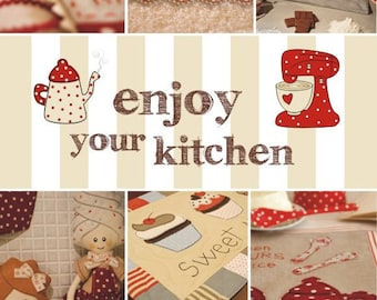 Enjoy your kitchen -creative book-seewing-