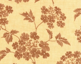 SALE - Butterscotch Roses Butterscotch by Fig Tree Company from Moda