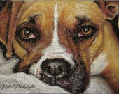 """Custom Pet Portrait - Pastel Drawing 5"""" x 7"""" - Unique Holiday Gift for Pet Lovers"""