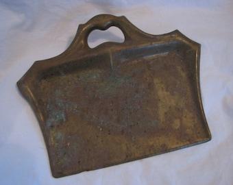 Antique Brass Silent Butler