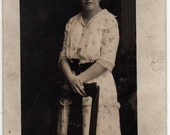 From Miss Sylvia Schank to Lottie Spear, Post Card Photograph, Ithica Michigan