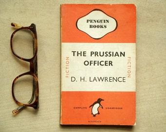 Vintage penguin paperback D. H. Lawrence The Prussian Officer