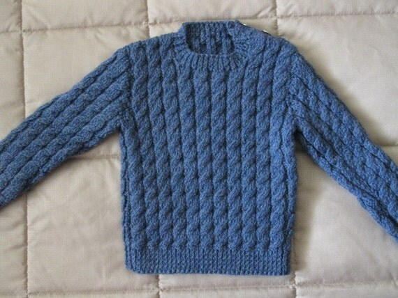 Boys cable  pullover