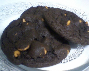 Chocolate Butterscotch Chip Cookies - Chocolate Chip Butterscotch Cookies (24 cookies)