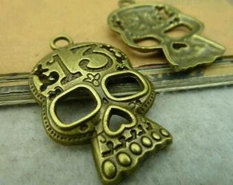 10pcs 24x38mm The Antique Bronze Retro Pendant Charm For Jewelry Bracelet Necklace Charms Pendants C3632