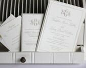 Wedding Invitations, Elegant Wedding Invitations, Shimmer, Wedding invites, Wedding Shower Invitations, Save the date, Elegant