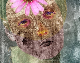 Giclee Art Print Reproduction - Soul People - Hope Beckons - Limited Edition Print - Giclee Print - Portrait Print - Face Print