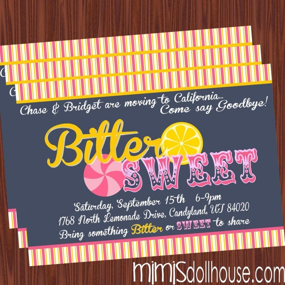 Goodbye Party Invite as great invitations layout