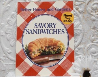 1988 Savory Sandwiches Better Home and Gardens