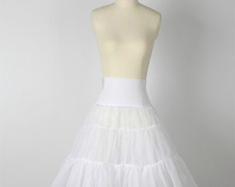 White Petticoat Underskirt - Big Volume