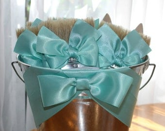 Beach Wedding, Beach Brushes, Shoe Brushes, Beach Themed Wedding, Beach Brush Pail