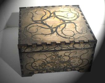 Thorn Jewelry box 8 X 8