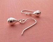Drops of Silver Earrings -Sterling Silver Drop Earrings
