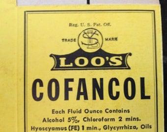 Vintage Hawaii Loos Cofancol Box