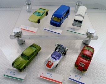 Vintage Corgi Toys Choice of 6 Diecast Toy Car Mixed Lot 1 . Husky, Corgi Junior & Whizzwheels Models.  Intact w Varying Wear