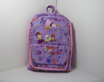 Tea Party Preschool Backpack