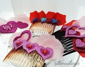 Made to Order Hair comb/ Barrette