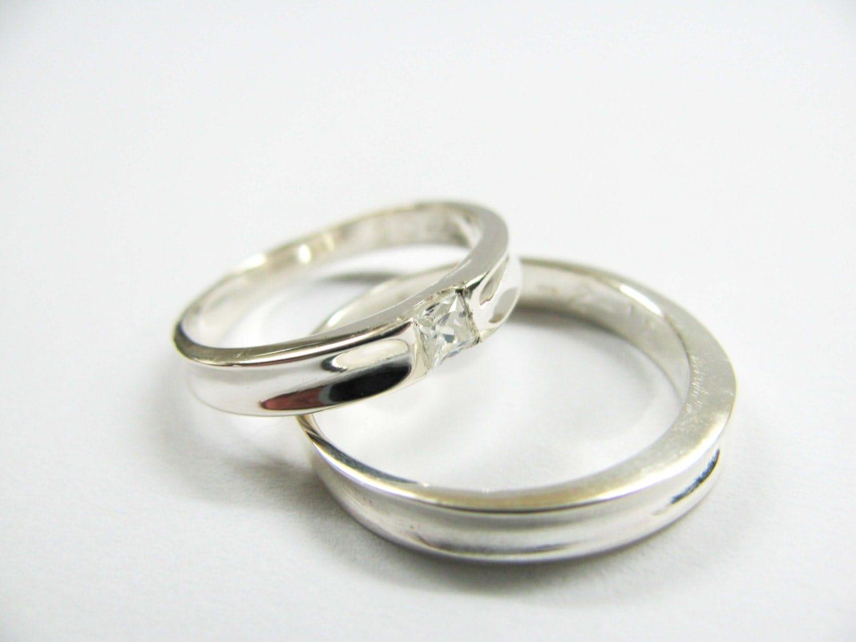 simple elegant wedding rings | Wedding