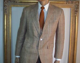 Vintage 1980's Eljo's Brown Sportcoat - Size 40