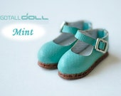 GOTALL doll handmade Mary Jane Shoes for Blythe doll - doll shoes -  Mint