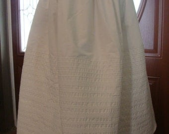 Corded Petticoat up to 100 Rows of Cording Custom Made