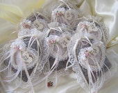 Potpourri Sachets Victorian Lace, Ribbons and Pearls For Home Decor and More-Special Discounted Price