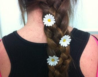 EDC Glitter Daisy Hair clips