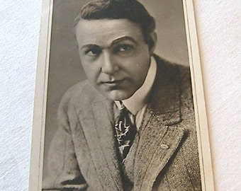 Dustin Farnum, Black and White Postcard, Old Black and White Postcard No14