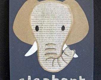 Elephant Collage - original