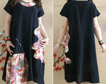 women black summer dress