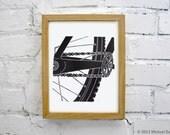 Mountain Bike Art - Singlespeed Fixie