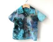 Boy's Hand Dyed Shirt - 100% Cotton