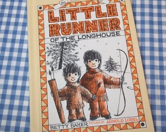 little runner of the longhouse, vintage 1962 children's book