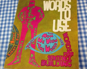 words to use - a primary thesaurus, vintage 1971 children's book